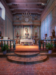 Chancel, Mission San Miguel Arcangel, CA