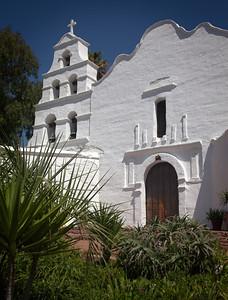 Facade, Mission San Diego de Alcalá, CA