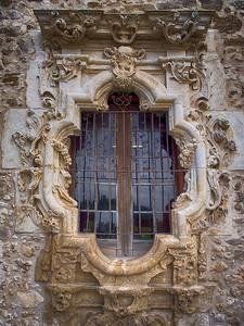 Window, Mission San José, San Antonio, TX