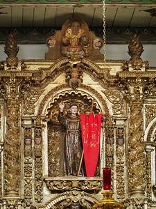 Retablo detail, Mission San Juan Capistrano CA
