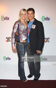 Crystal Hunt and Scott Bailey during New York Launch Party for the New Evite and Silent Auction to Benefit Rock The Vote at Studio 450 in New York City, New York, United States. (Photo by J. Countess/WireImage for Evite)