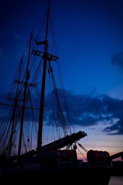 Morning Mast