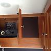 port speaker for dash radio behind cloth and surround speaker in cabinet
