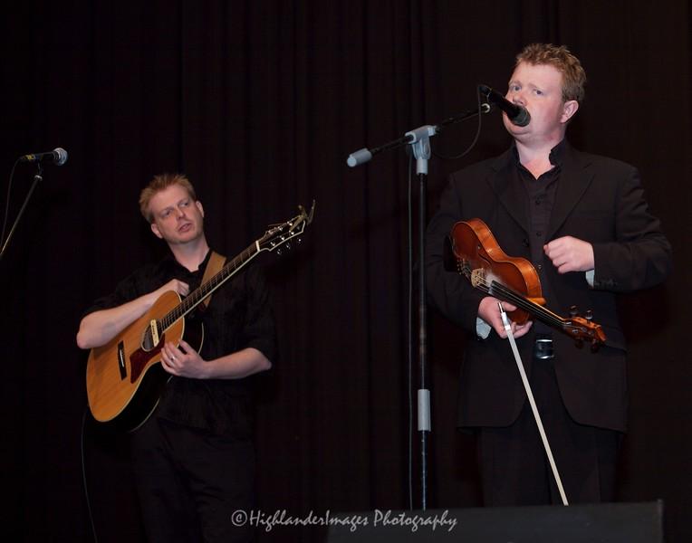 Sean O'Donnell and Alisdair White