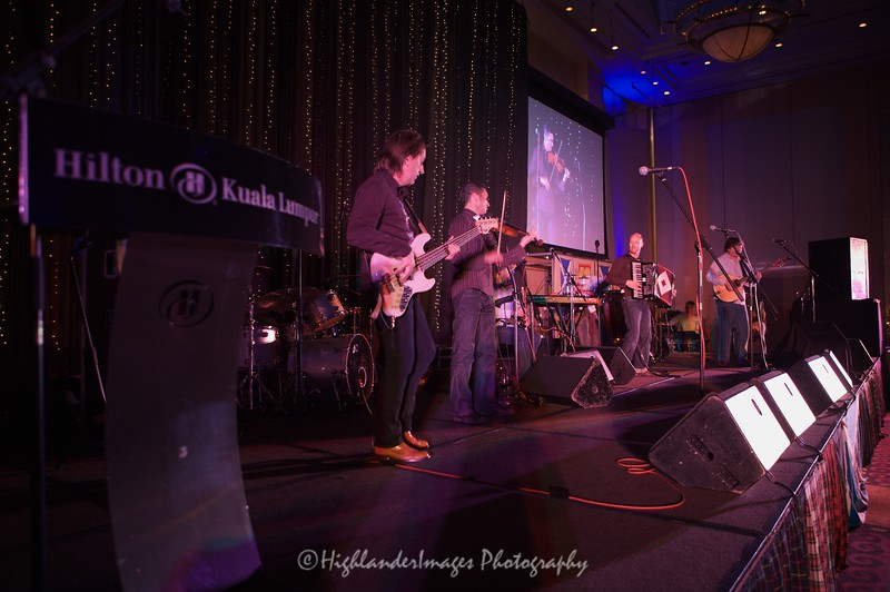 Capercaillie in Concert, Hilton Hotel, Kuala Lumpur