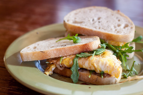 My Fried Egg Sandwich Inspired by San Diego Restaurant, Pappalecco
