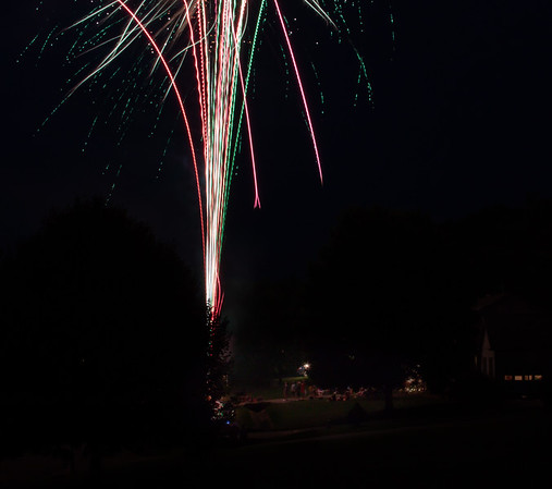 Neighborhood Fireworks
