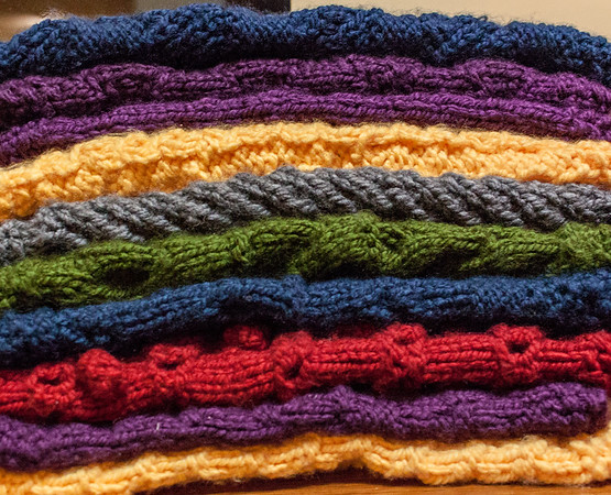 My Afghan Stack of Squares