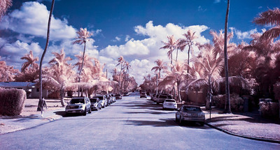 An infrared picture of Naples, FL