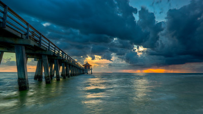 The Naples City Pier in Naples, FL