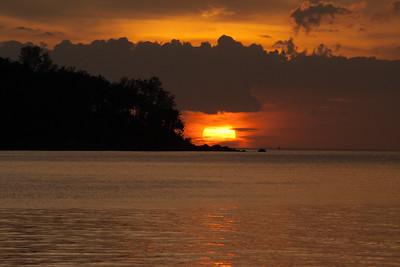 Sunset from the Beach, Bang Tao Beach