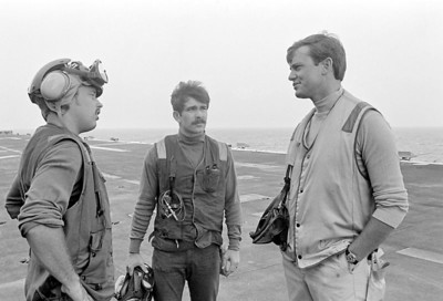 Left to right. Can't remember,Can't remember & Lt. Greenleaf