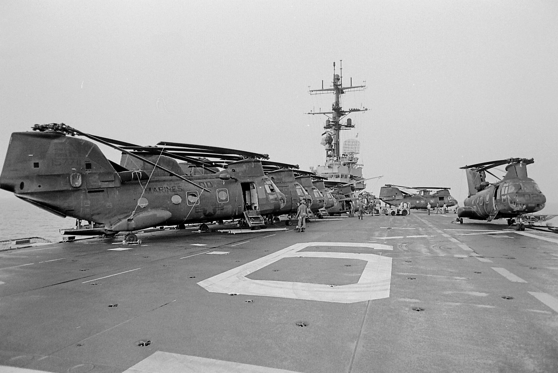 I must have had my heels over the edge of the flight deck for this one.
