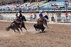 Nebraska High School Rodeo Finals team roping, Hastings, NE (Jun 2013)