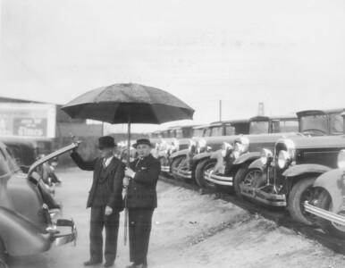 1930s, Domenich Under Umbrella