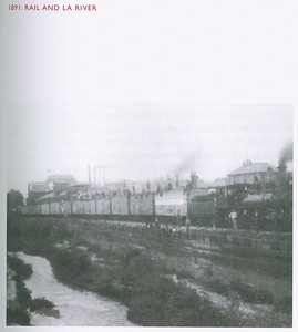 1891, Train by LA River