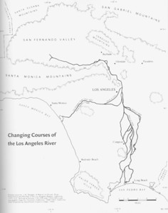 LA River Changing Courses
