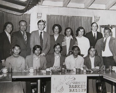 1972, Varsity Basketball Team