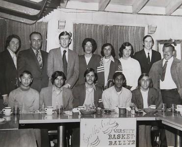 1972, Varsity Basketball Team