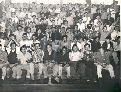 1949, Cheering at Rally