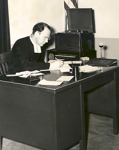 Brother Cyril at Desk