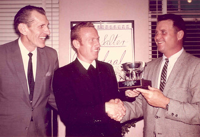 1969, Coaches with Trophy