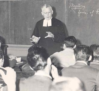 1954, Religion Class