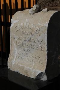 1887, Emma Heuberger Tombstone