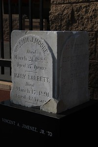 1891, Moore and Barrett Tombstone
