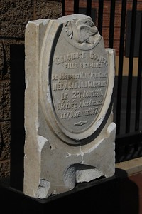 1887, Gracieuse Coujet Tombstone