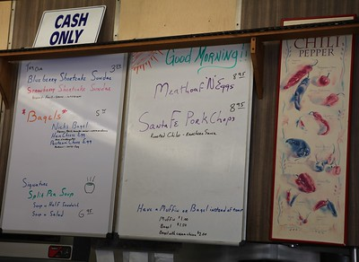 2011, Handwritten Menu