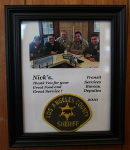 2011, Sheriffs Say Thanks on Wall