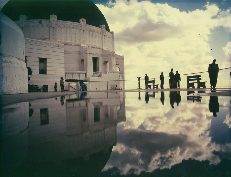Griffith Observatory Puddle