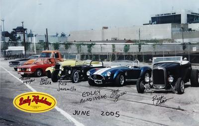 2005, Classic Cars Outside