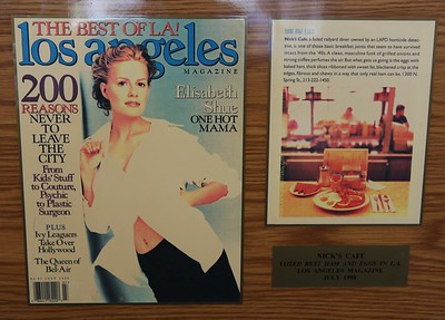 1998, Los Angeles Magazine Award