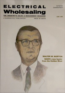 1969, Electrical Wholesaling Magazine
