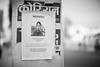 Missing poster in Kathmandu. Hundreds of people were not found.
