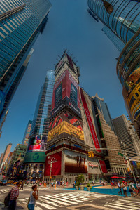 NYC, New York, Times Square, HDR