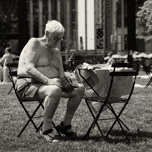 The Reader at Bryant Park
