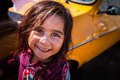 Ghazal, a young girl living in a refugee camp in Lebanon at the Northern border with Syria. Akkar, Lebanon. October 2015. ----------- Ghazal, une jeune fille vivant dans un camp de réfugiés au Liban à la frontière nord avec la Syrie. Akkar, Liban. Octobre 2015.