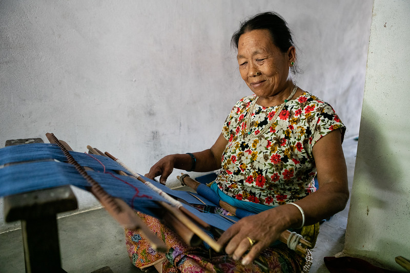 Santu Tamang story is an ode to resilience and a perfect example of the supports WSDO can provide to inspiring women. She has been working with the organization as a weaver for the past twenty years, making one of the women with the most seniority in the organization.