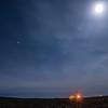Cisco Compressor Station lights up the night sky