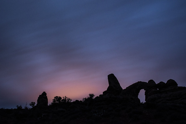 Light Pollution from Turret Arch