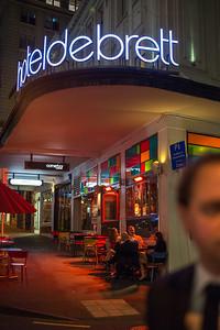 Hotel de Bret, Auckland, 2014