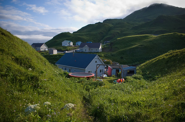 Unalaska, Bering Sea fishing community, Alaska.