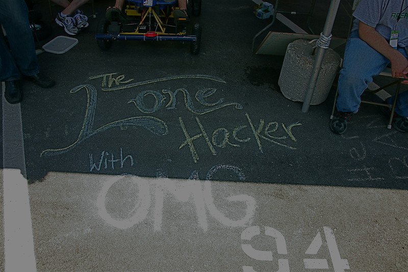 The Lone Hacker shows some love to Omaha Maker Group and their support.