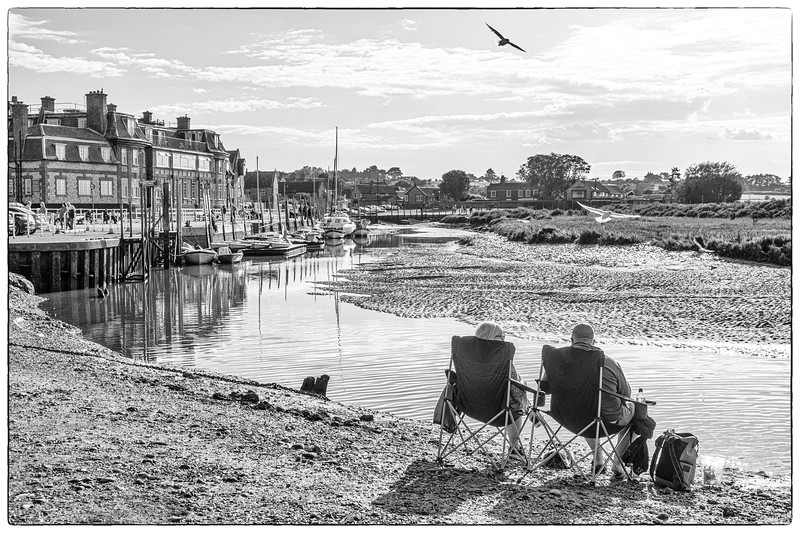 Blakeney Quay, Norfolk, UK