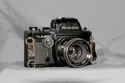 Ricoh TLS-401, black model.