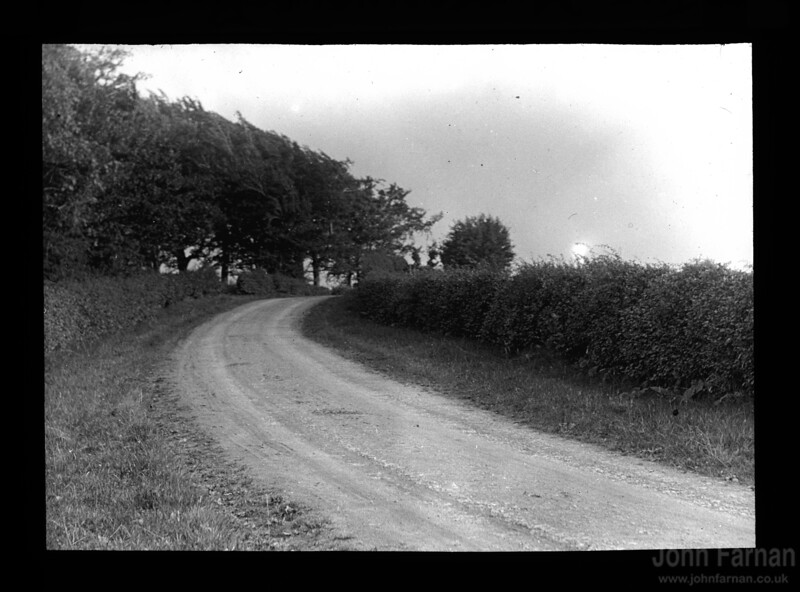 The Muttonhole Road (written on plate) just outside Hamilton