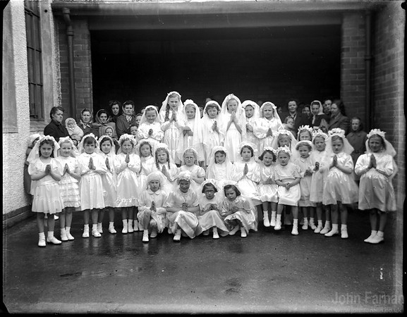 First communion at St Annes in Hamilton (possibly)